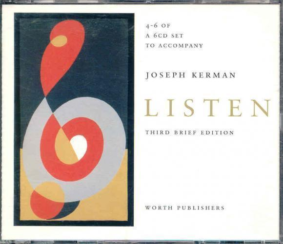 Kerman, Joseph Listen (Third Brief Edition)